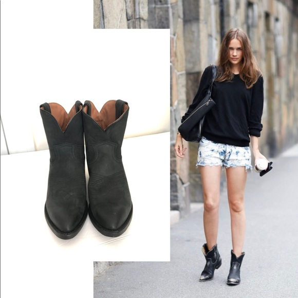 1bf87747b4d Frye Shoes | Billy Short Western Ankle Boots | Poshmark